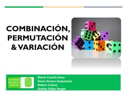 permutacion y combinacion