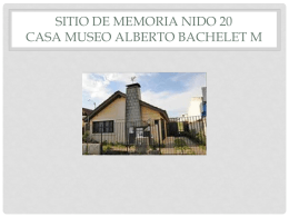 sitio de memoria nido 20 casa museo alberto