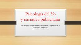03. Psicología del yo y narrativa publicitaria
