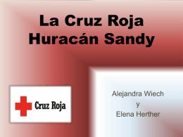 La Cruz Roja Huracán Sandy - Portafolio de Alejandra Wiech