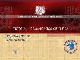 TUTORIAL 1_COMUNICACIoN-CIENTiFICA