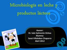 Leche - FCQ-MicrodeAlimentos