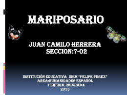 mariposario - WordPress.com