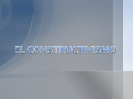 CONSTRUCTIVISMO.