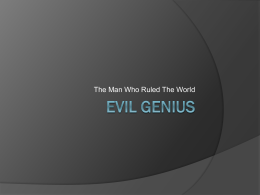 Evil Genius - Skye Smith