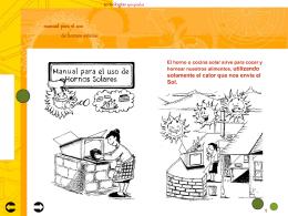 Uso Horno Solar - Hornos Solares CHILE