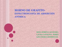 HORNO DE GRAFITO-espectroscopía de absorción atómica