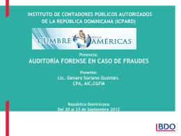 Auditoría forense en caso de fraudes