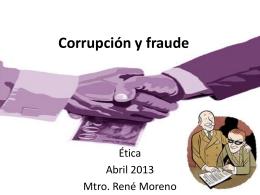 Corrupción y fraude