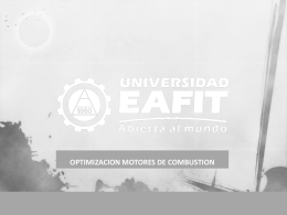 optimizacion motores de combustion