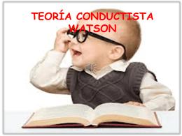teoría de WATSON