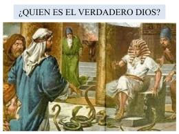 ¿QUIEN ES EL VERDADERO DIOS?