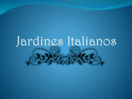 Jardines Italianos