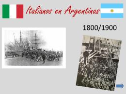 Italianos en Argentinas