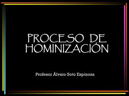 2. Hominizacion - Sociales-TIC