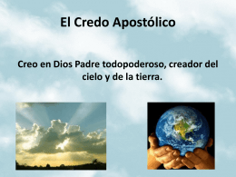 El Credo Apostólico