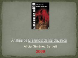 Analisis de « El silencio de los claustros »