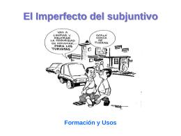 EL imperfecto del subjuntivo - formas y usos español.
