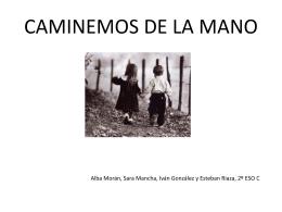 Caminemos de la mano - Lengua castellana y Literatura 2º ESO C