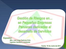 Gestión_de_Riesgos - eche ingenieros sr
