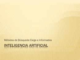 Métodos de Búsqueda - inteligencia artificial