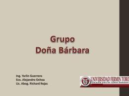 Expocualitativa Doña barbara (1)