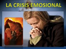 la crisis emosional