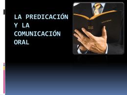 La Predicación y la comunicación oral