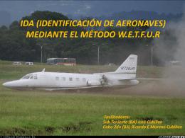 IDA (IDENTIFICACIÓN DE AERONAVES