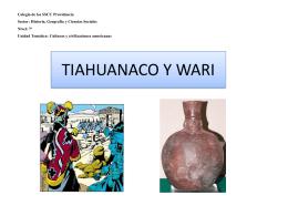 TIAHUANACO - SSCC Providencia