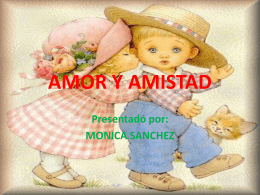 AMOR Y AMISTAD - WordPress.com