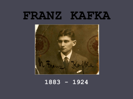 FRANZ KAFKA - WordPress.com