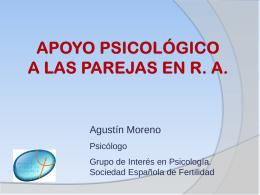 AGUSTIN MORENO - Apoyo Psicológico a las Parejas en R