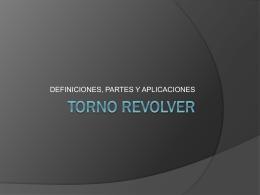 TORNO REVOLVER EXPOCISION