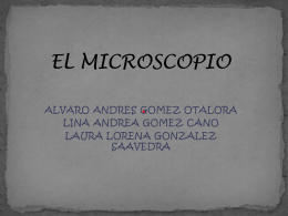 EL MICROSCOPIO