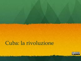 Cuba la rivoluzione