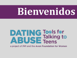 Abuso en el noviazgo - Dating Abuse: Tools for Talking to Teens