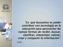 Presentación Educacion (Noboa)