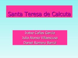 Doña Teresa de Calcuta