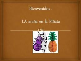 lectura araña y piñata