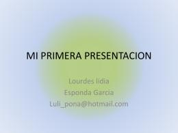 MI PRIMERA PRESENTACION (663,9 kB