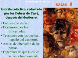 Profetas: Isaías III