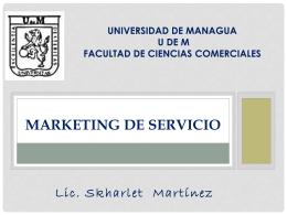 Presentación de PowerPoint - Profesora Scarleth Martínez