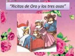 Ricitos de Oro y los tres osos - Castillo - Varela Diez