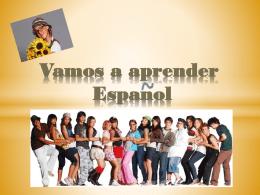 Vamos a aprender Espanol 2