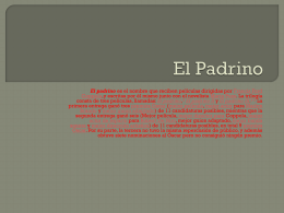 El Padrino PP - WordPress.com