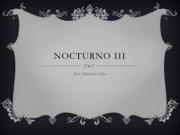 Nocturno iii