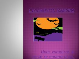 Casamiento vampiro