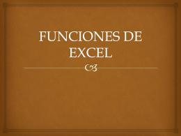 FUNCIONES DE EXCEL - softwareingenieriacivil