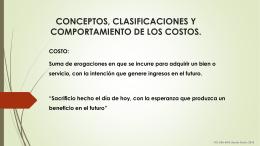 conceptos, clasificaciones y comportamiento de